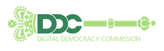 Digital Democracy Commission logo