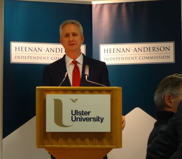 Ivan Lewis at Heenan-Anderson Commission