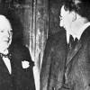 Churchill with Eamon De Valera, 1953