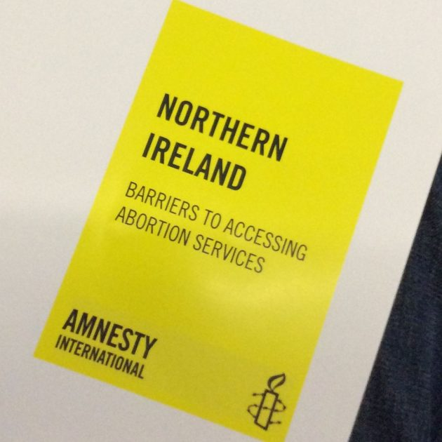 Amnesty NI Abortion Barriers report briefing