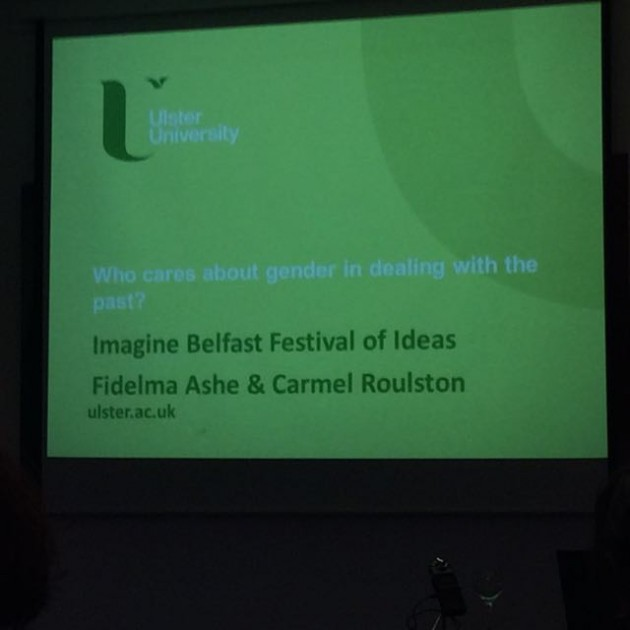 ImagineBelfast15 Gender Dealing with the Past 01