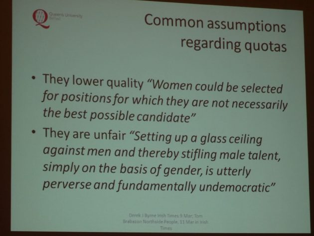 Yvonne Galligan Gender Quotas in Politics 14