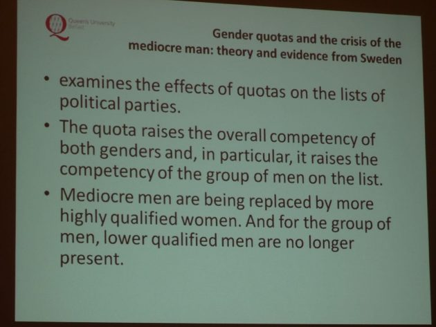 Yvonne Galligan Gender Quotas in Politics 16