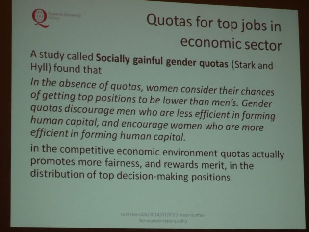 Yvonne Galligan Gender Quotas in Politics 18