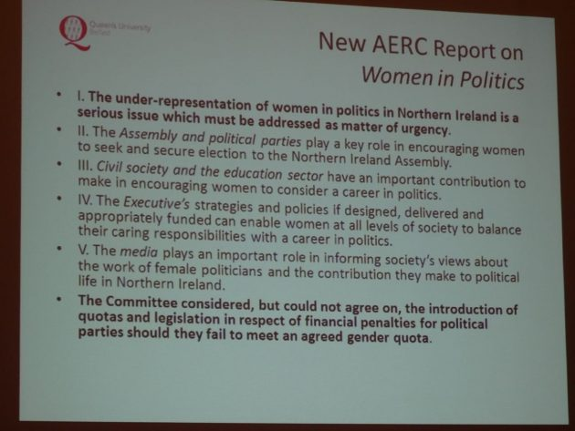 Yvonne Galligan Gender Quotas in Politics 26