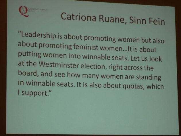 Yvonne Galligan Gender Quotas in Politics 31