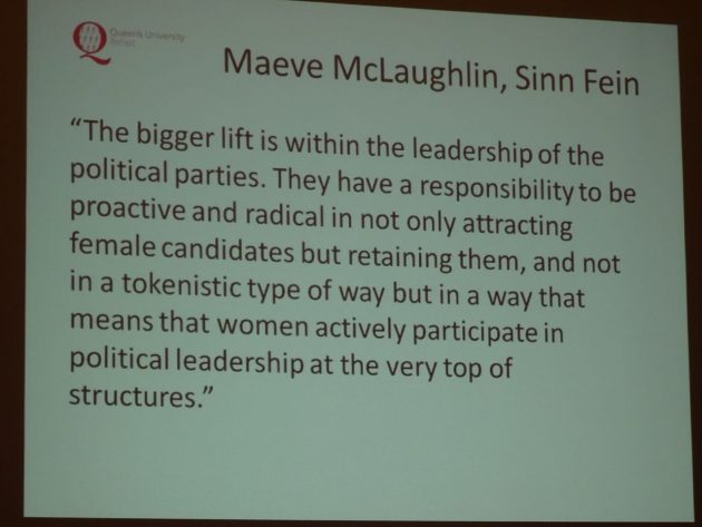 Yvonne Galligan Gender Quotas in Politics 34