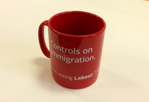 labour anti-immigrant mug