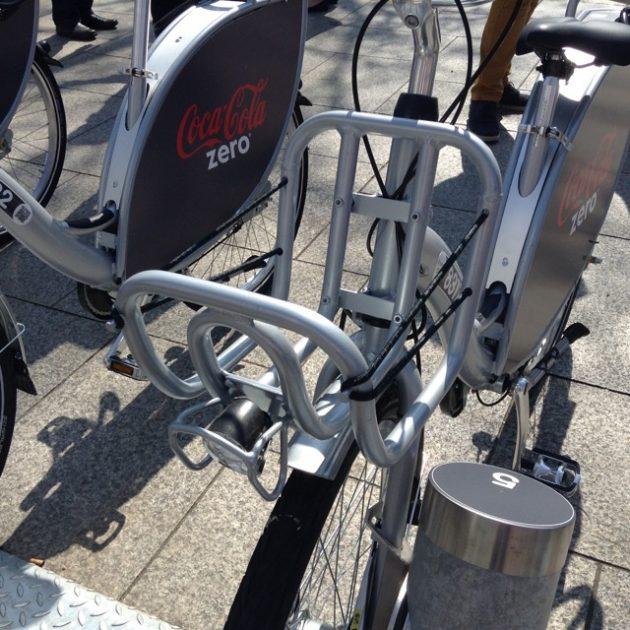 Belfast Bike front carrying