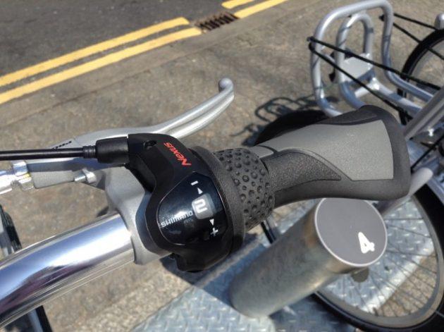 Belfast Bike gear change