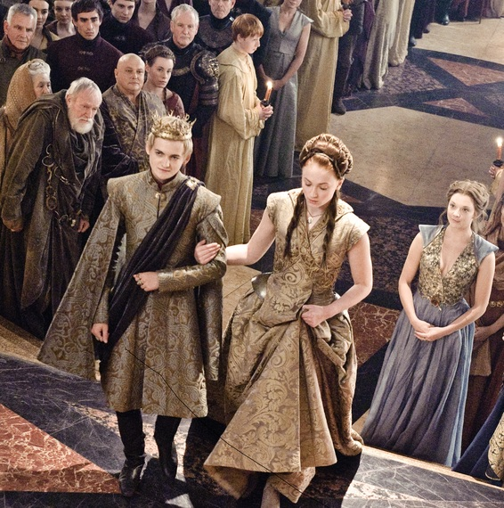 The women in Game of Thrones rarely have a choice who they marry, a situation all too common for women and girls in the real world. Photo credit: HBO / Sky Atlantic