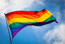 """""""Rainbow flag breeze"""" by Benson Kua. Licensed under CC BY-SA 2.0 via Wikimedia Commons - https://commons.wikimedia.org/wiki/File:Rainbow_flag_breeze.jpg#/media/File:Rainbow_flag_breeze.jpg"""