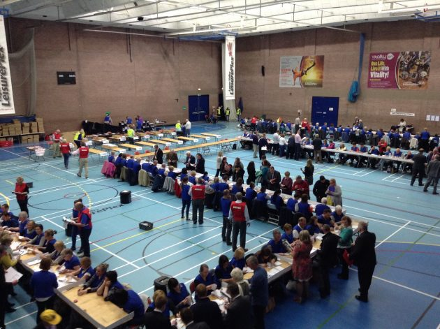 Lagan Valley count 2015 Westminster