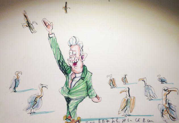 Alasdair McDonnell cartoon