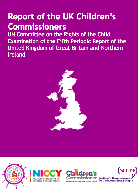 Childrens Commissioners report to UNCRC