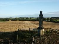 Monument to the Battle in Naseby