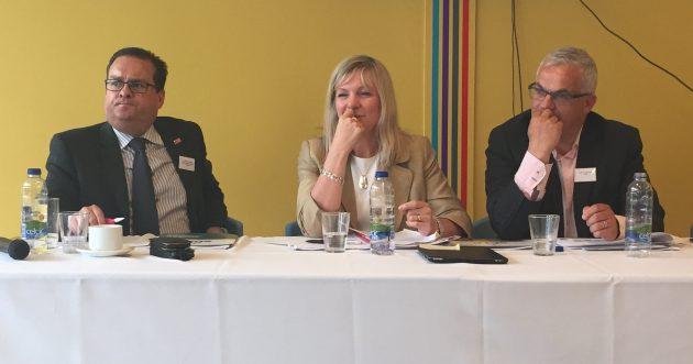 Richard Brown, Suzanne Wylie & Tim Attwood
