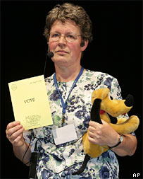 Dame Jocelyn Bell Burnell