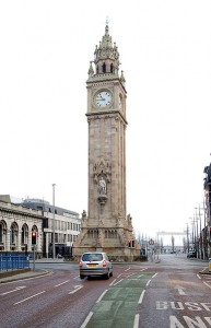 The Albert Clock was kept to Belfast Mean Time until Standard Time was imposed in 1916.