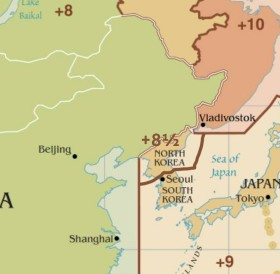 North Korea is adopting a new time zone.