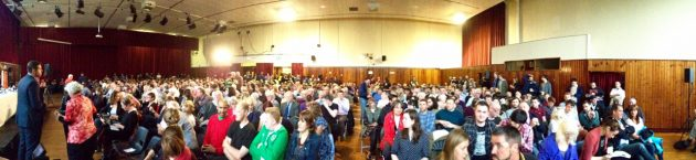 West Belfast Talks Back pano start