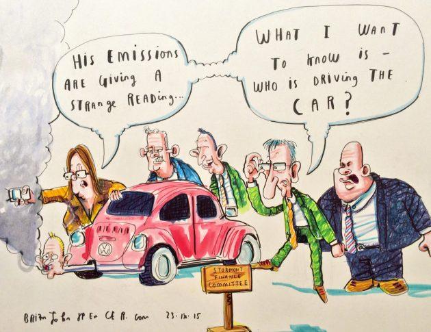 Stormont Committee cartoon