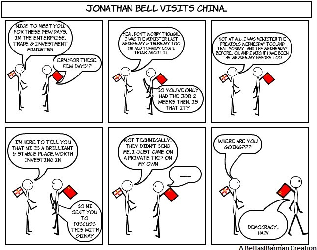 Jonathan Bell Visits China