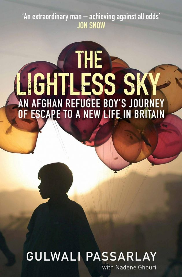 Gulwali Pssarlay The Lightless Sky bookcover