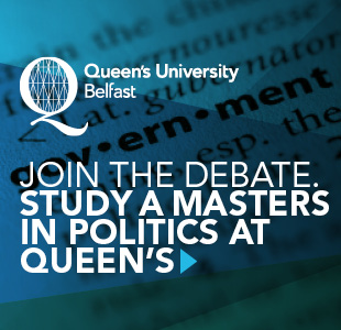 Study a masters in politics at queens university belfast