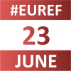 EUref 23 June calendar