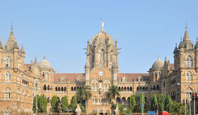 The Chhatrapati Shivaji railway station, Mumbai (or is it Bombay?)