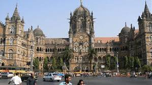 The Chhatrapati Shivaji railway station, Mumbai (or is it Bombay?)