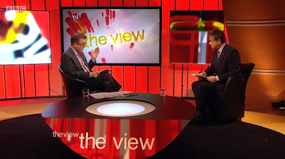 The View Mark Carruthers Basil McCrea