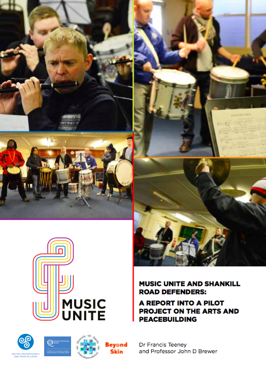 CDPB Music Unite Report front cover