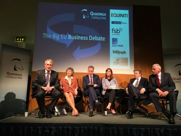 EUYourChoice panel - Owen Paterson, Kate Hoey, Jeffrey Peel Angela McGowan, John Stevens, Vernon Coaker