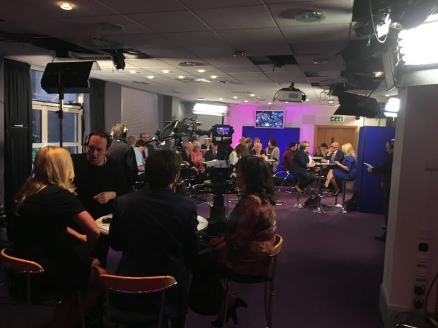 bbcnidebate spin room