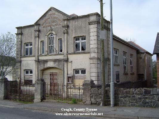 Coagh Soliders & Sailors Memorial Hall