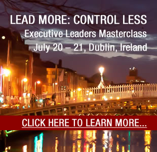 LEAD MORE: CONTROL LESS