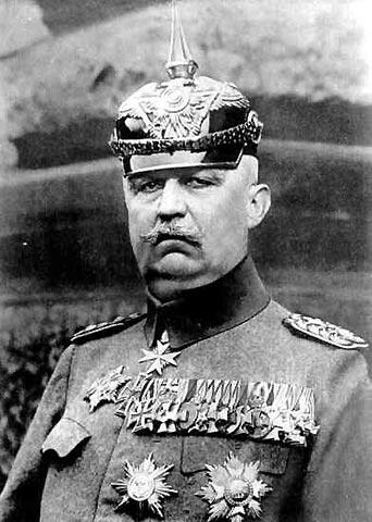 Erich Ludendorff (1865-1937)