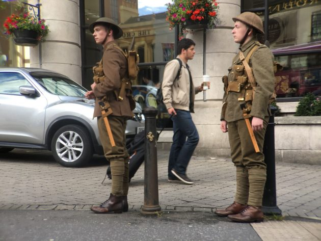Because We Are Here Somme 100 commemoration - Belfast