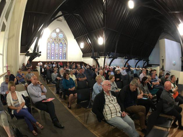 feile16 Duncairn audience