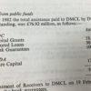 CENT-3-103 De Lorean PAC report financial figures
