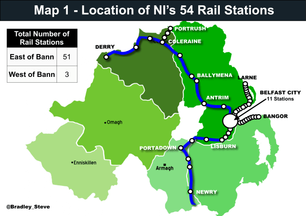 Rail Map Of Ireland.The 400m For Infrastructure In The Conservative Dup Agreement Will