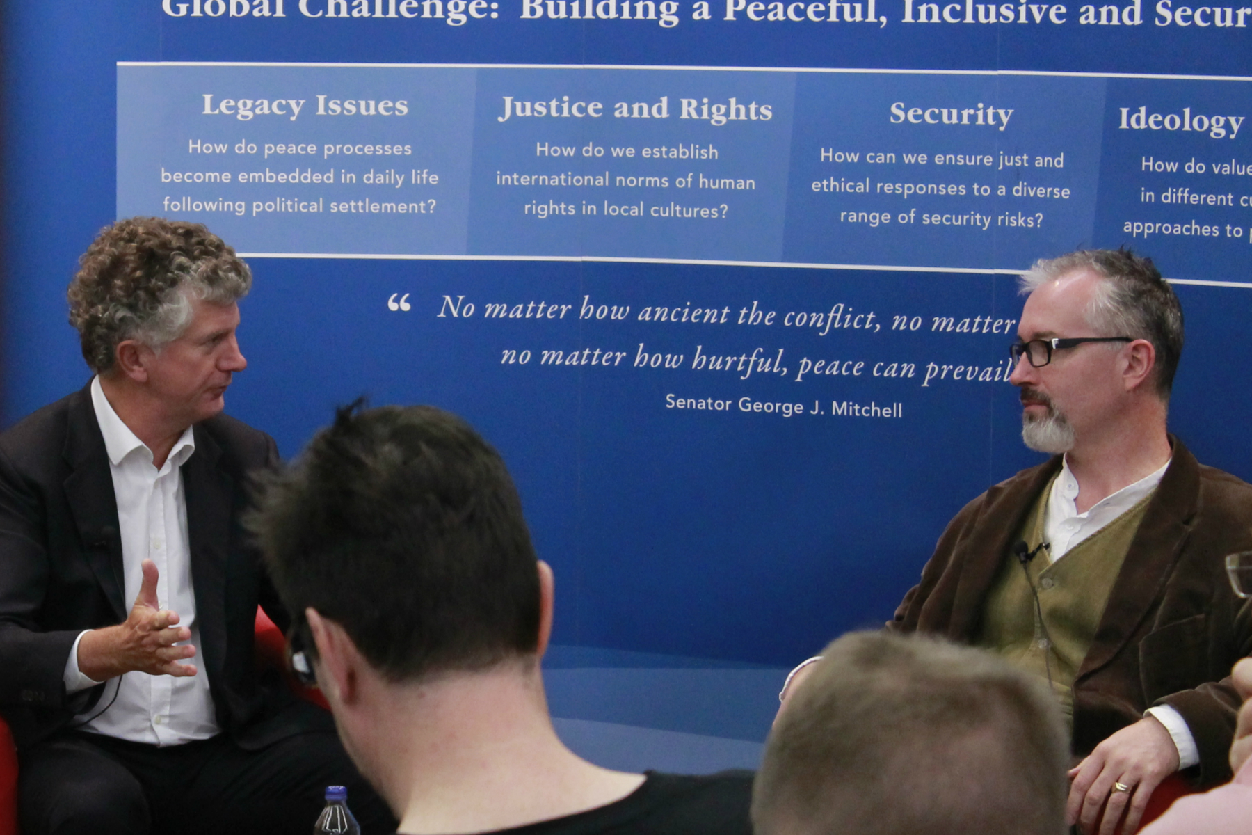 Jonathan Powell on Ending Conflicts – Insights on Leadership