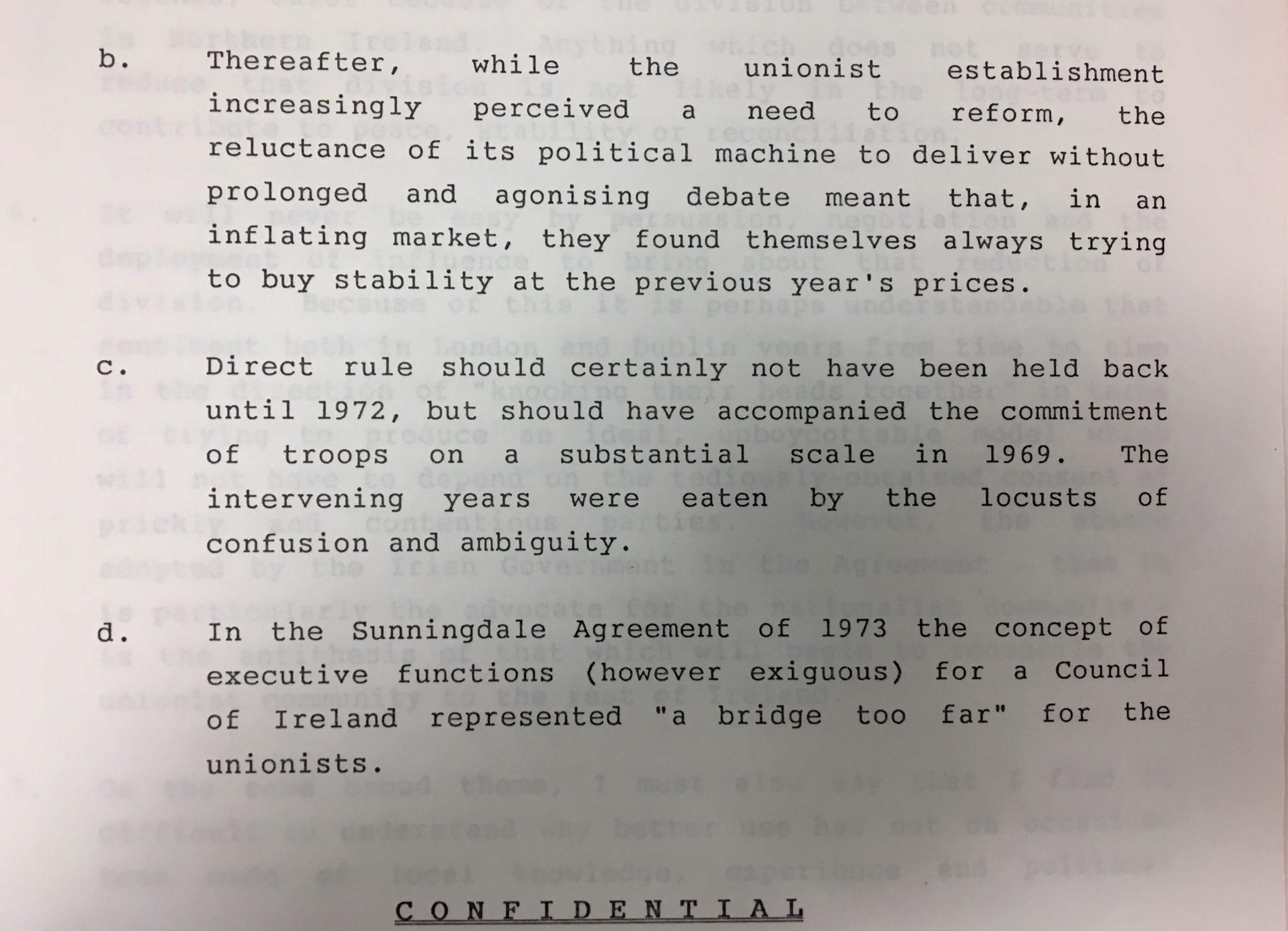 Anglo Irish Agreement Slugger Otoole