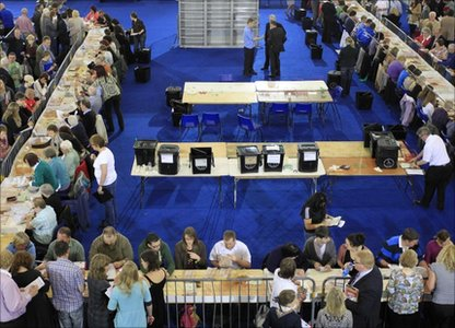 Image result for northern ireland election count