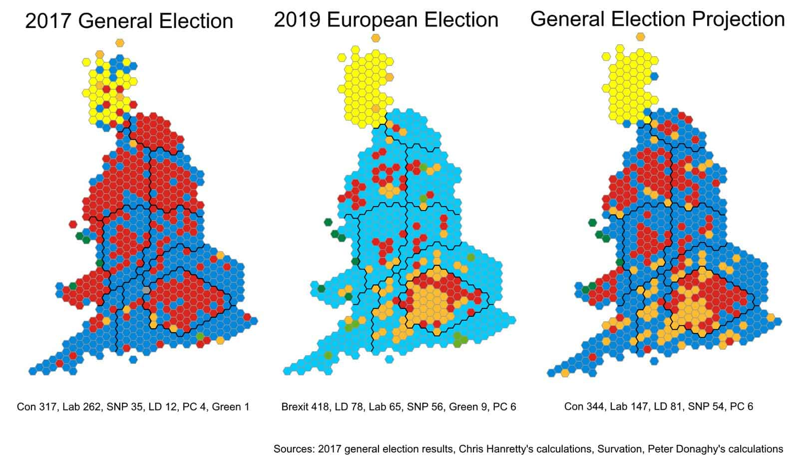 uk election results map