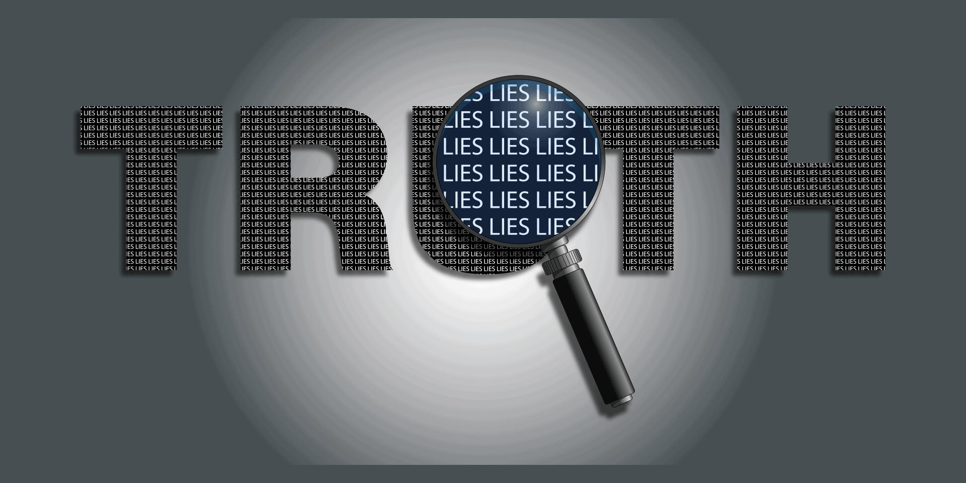 deceive, deception, lies