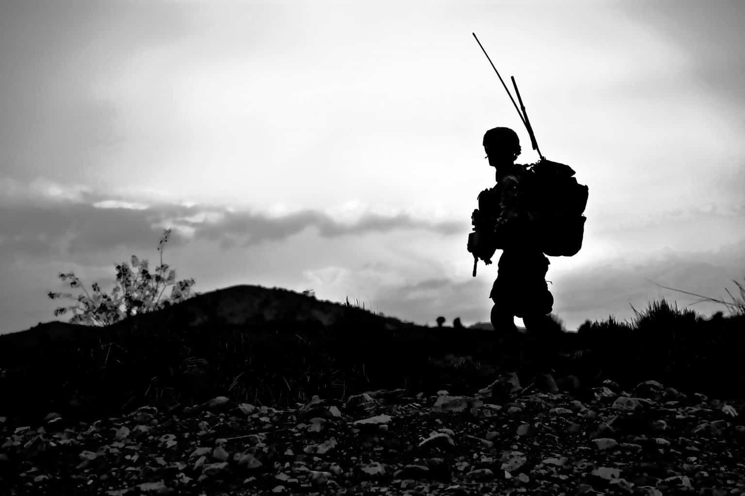 soldier, military, uniform