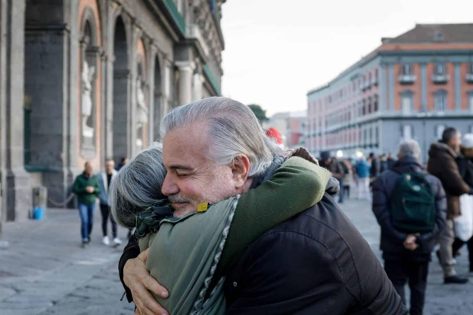 embrace, hug, solidarity